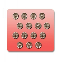 Boutons pression a coudre Metal 7mm (Blister 15 pieces)