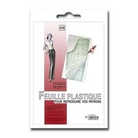 Papier Plastique pour Patron (3 Feuilles de 1m50)