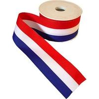 Rubans Tricolores 15 a 75 mm (Rouleau de 25 metres)