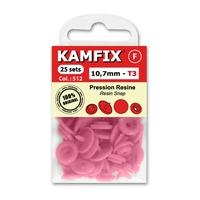 Boutons Pression Resine Kamfix T3 (10,7 mm)