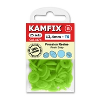 Boutons Pression Resine Kamfix T5 (12,4 mm)