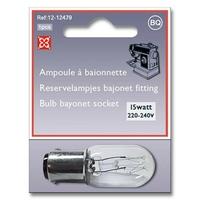 Ampoule à Baionnette 15 WATT - 220-240 Volts