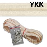 Zip au Mètre YKK Maille 3 mm (20 mts + 20 curseurs)