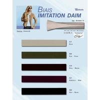 Biais Imitation Daim 185mm (Rouleau 25 Metres)