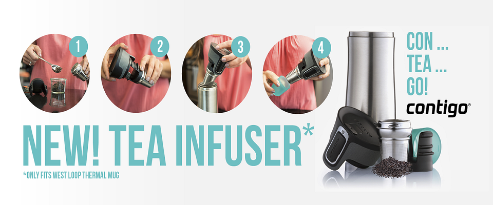 Découvrez le thermos avec infuseur à thé !