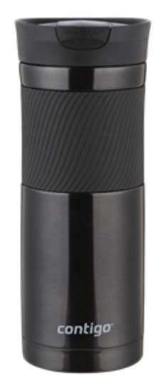 travel mug byron noir 590ml thermos pour boissons chaudes et froides equipement pour le voyage. Black Bedroom Furniture Sets. Home Design Ideas