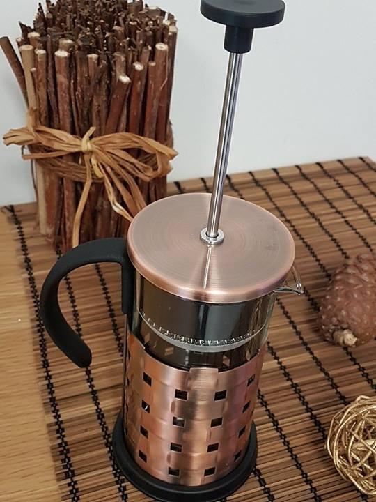 Tea coffee maker en bronze th i re piston cafeti re - Fonctionnement cafetiere a piston ...