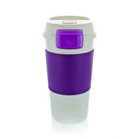 Travel Mug MORGAN LILAC/WHITE (VIOLET/BLANC)