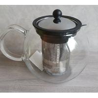 Théière Assam BODUM à piston en verre avec filtre inox