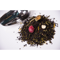 """Echantillon Mélange de thé noir et vert """"Au paradis tropical"""""""