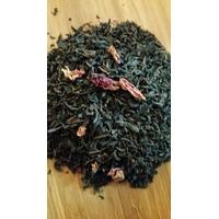 Pochette de thé noir : Au nom de la rose - 100g