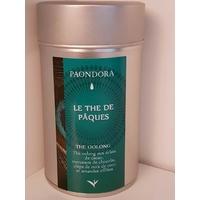 Boite à thé wulong : Le thé de Pâques