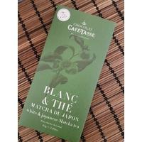 Tablette de chocolat blanc au thé vert Matcha du Japon