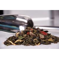 Pochette de thé bleu Oolong : Le pêcher mignon de maman - 100g