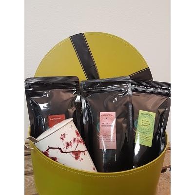 Coffret Tisanière et 4 pochettes de thé