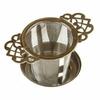 Filtre à thé raffiné Inox avec repose filtre