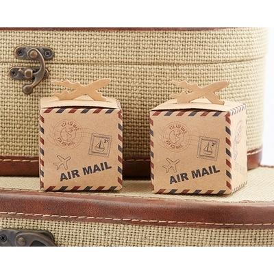 Mini Box à dragées sur le thème du voyage