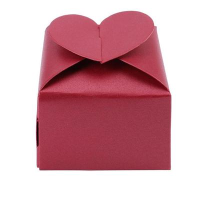 Mini Box à dragées en forme de coeur
