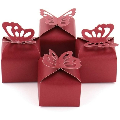 Mini Box à dragées Papillon