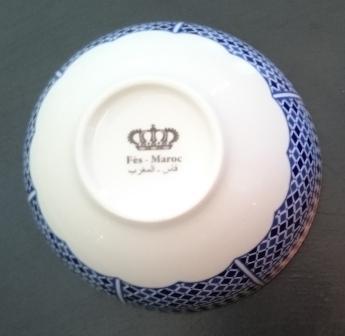 Bleu de Fès_Bol D13cm_FES_