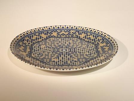 Assiette Mozaik Fès 20cm