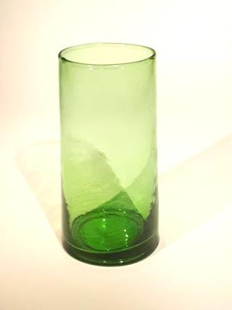 Vase Volcan vert 19 cm