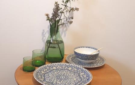 Porcelaine marocaine Mosaïk