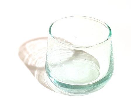 verre calebasse H7cm