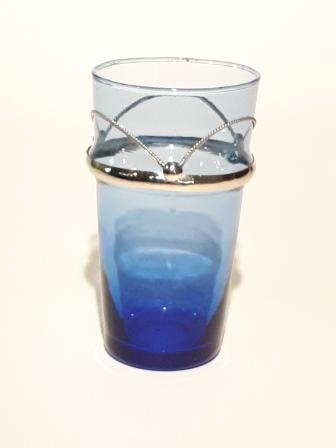 Beldi maillechort bleu H13