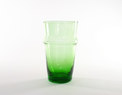 Verre Beldi vert Maxi H12,5cm