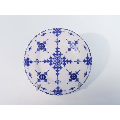 Assiette plate Point Bleu 15 cm