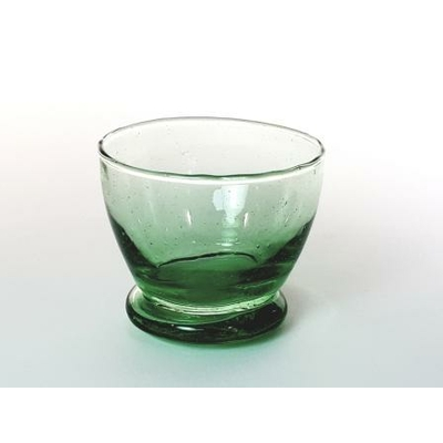 Coupelle Verrine verte GM H7cm