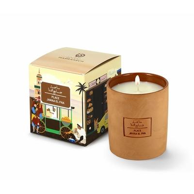 "Bougie parfumée ""40000 Marrakech, Place Jamaa El Fna"""