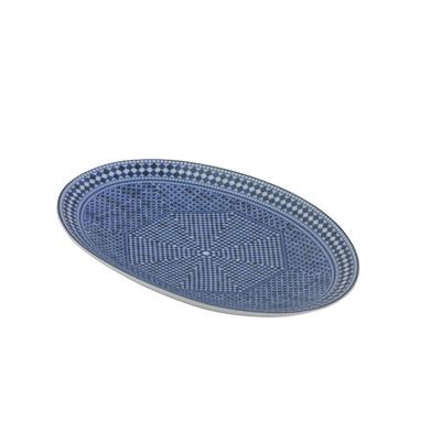 Plat ovale petit - Ravier, BDF