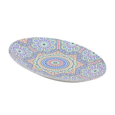 Grand plat ovale Zellige