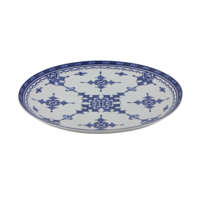 Assiette plate 26,5 cm Point Bleu