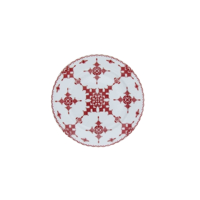 Assiette_15cm_Point Rouge_haut