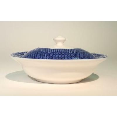 Bonbonnière Bleu de Fès 15cm