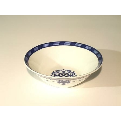 Saladier 17 cm Point Bleu