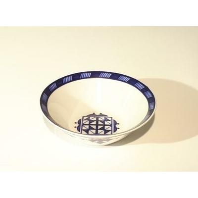 Saladier 15 cm Point Bleu
