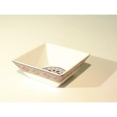 Petit Saladier carré 12.5 cm Médina