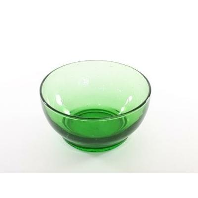 Saladier Luna vert H8/D16 cm