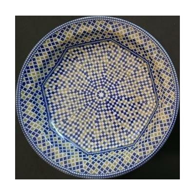 Assiette creuse Mozaïk Cocema 21.5 cm