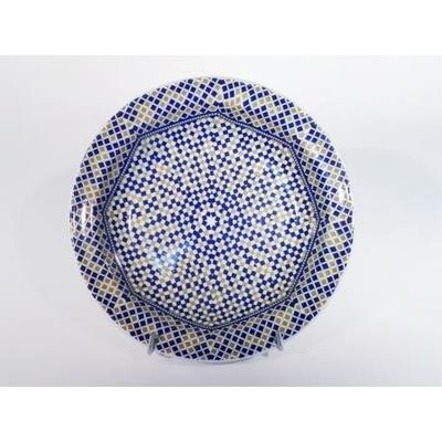 Assiette creuse Mozaïk 21.5 cm Cocema