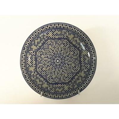 Assiette plate Mozaïk 20 cm COCEMA