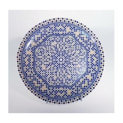 Assiette plate Mozaïk 25,5 cm / P de Fès