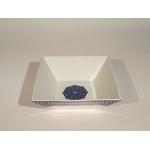 Saladier carré bleu de fès MM 18cm