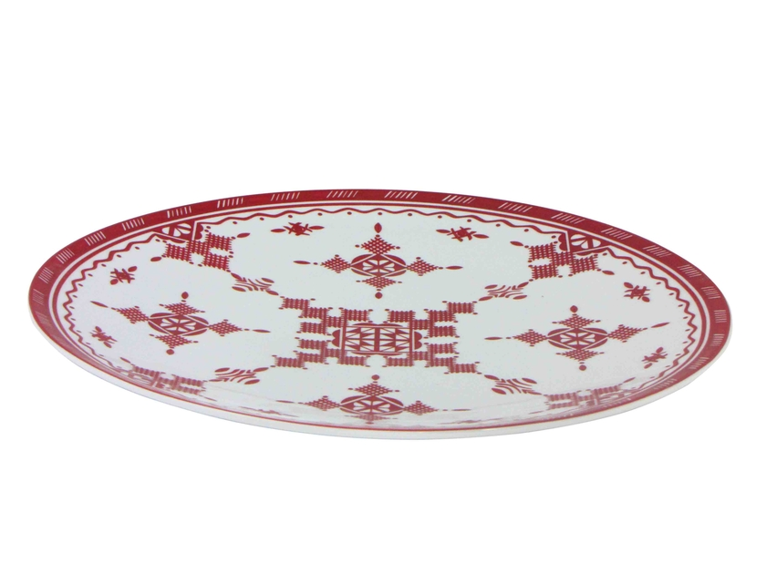 PointRouge_AssiettePlate_41cm_FAce