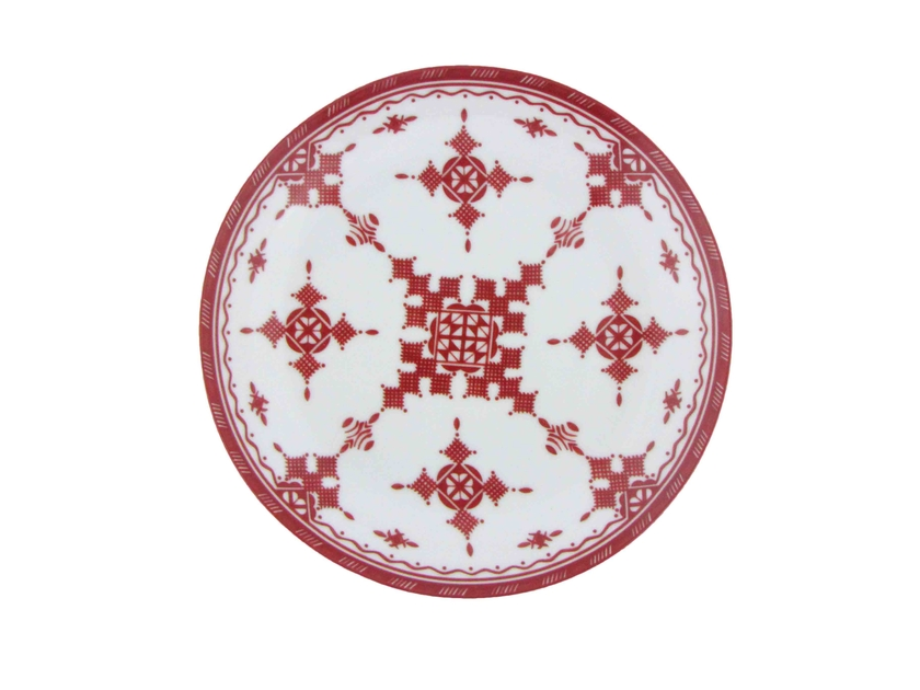 PointRouge_AssiettePlate_16.5cm_Haut
