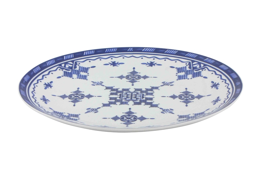 PointBleu_AssiettePlate_30.5cm_Face